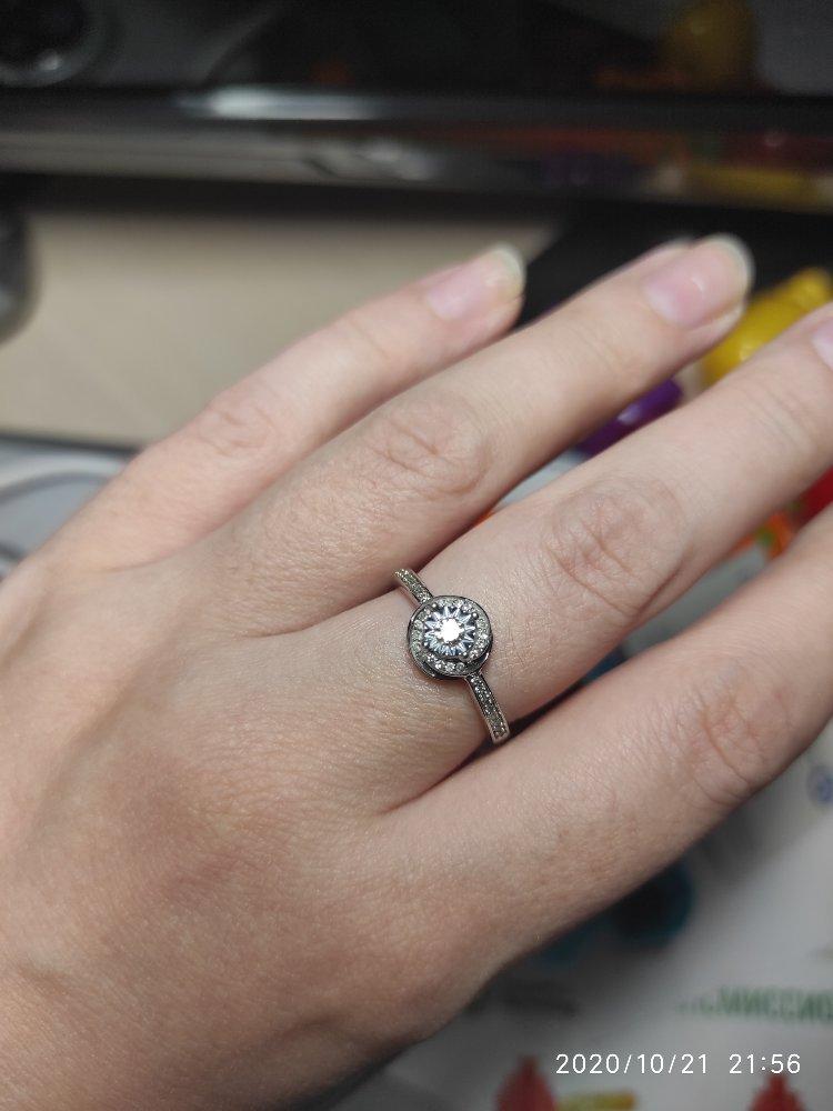 Очень симпатичное кольцо.