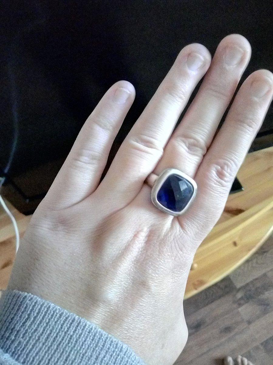 Кольцо с алпанитом