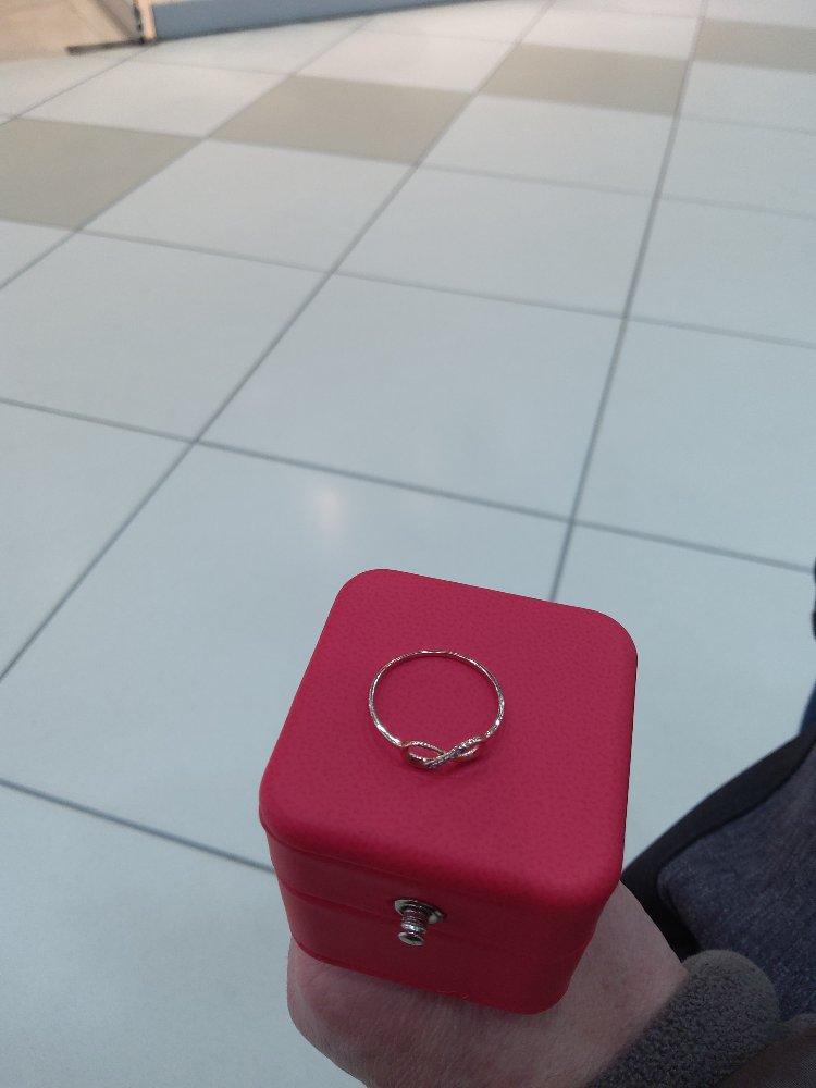 Внимательно обслуживание, оригинальное кольцо