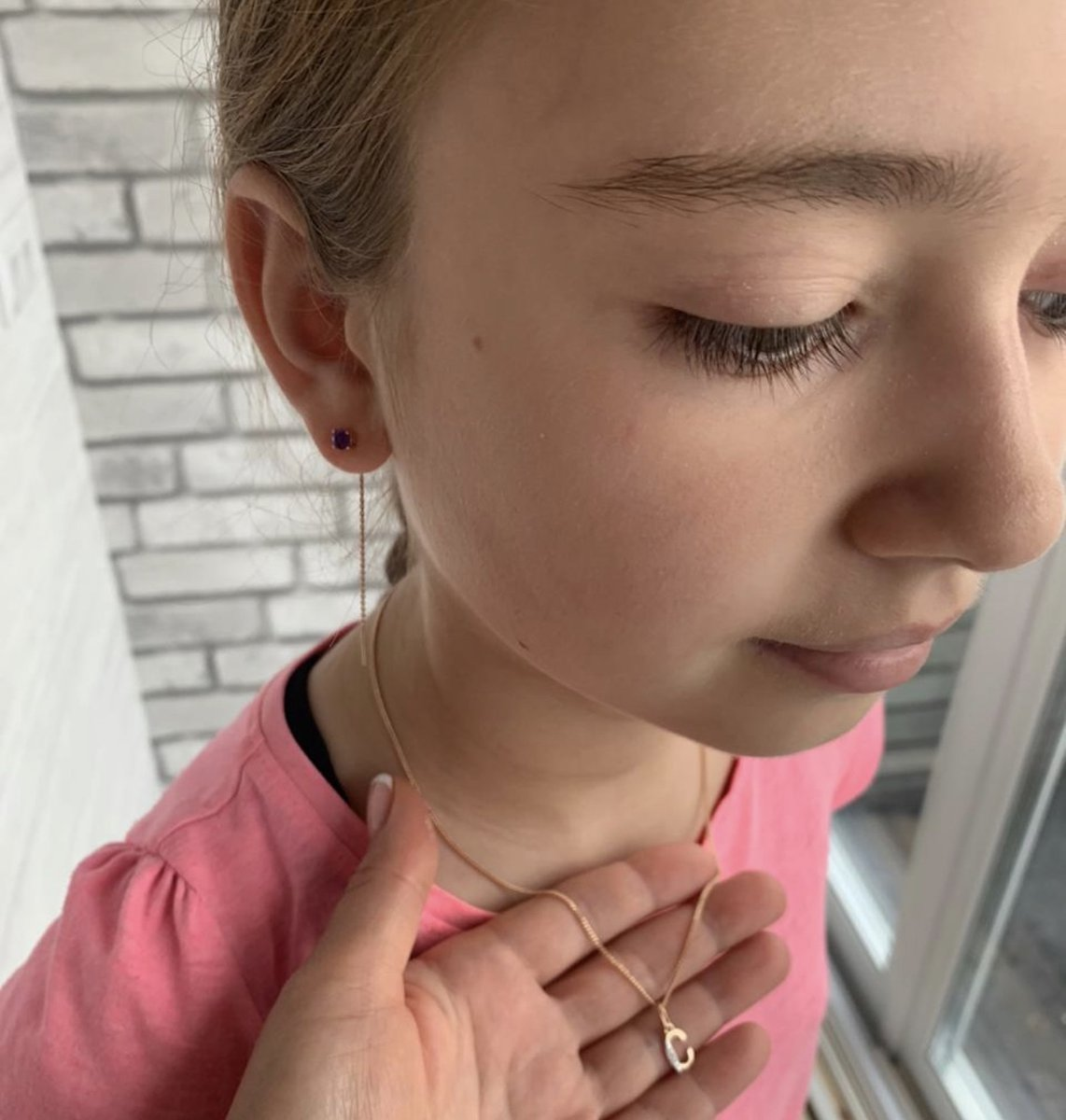 Сережки на 10 лет девочке