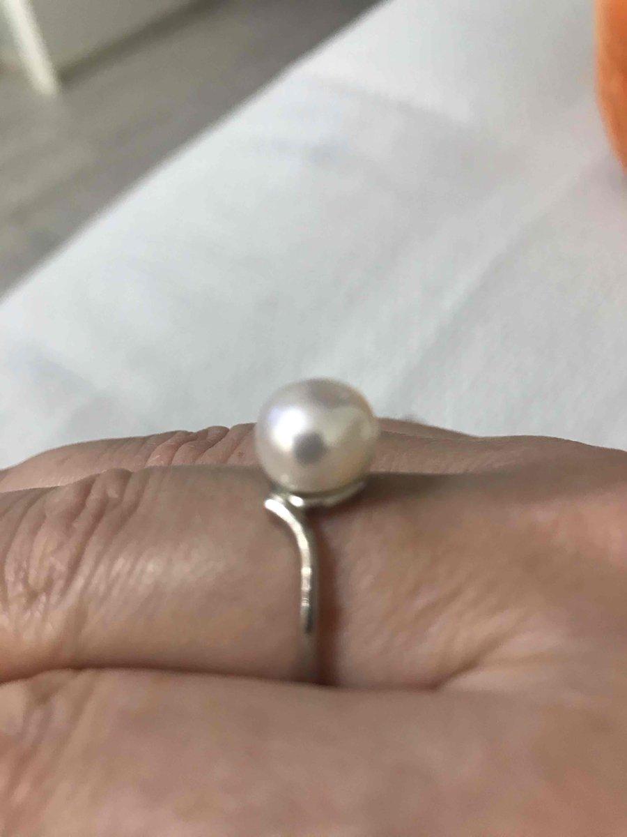 Долго выбирала кольцо с жемчугом, это кольцо меня покарило!