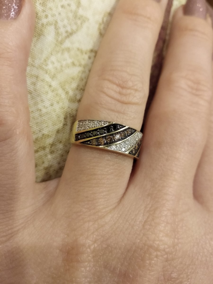 """Отличное кольцо в коллекции """"шоколад"""""""