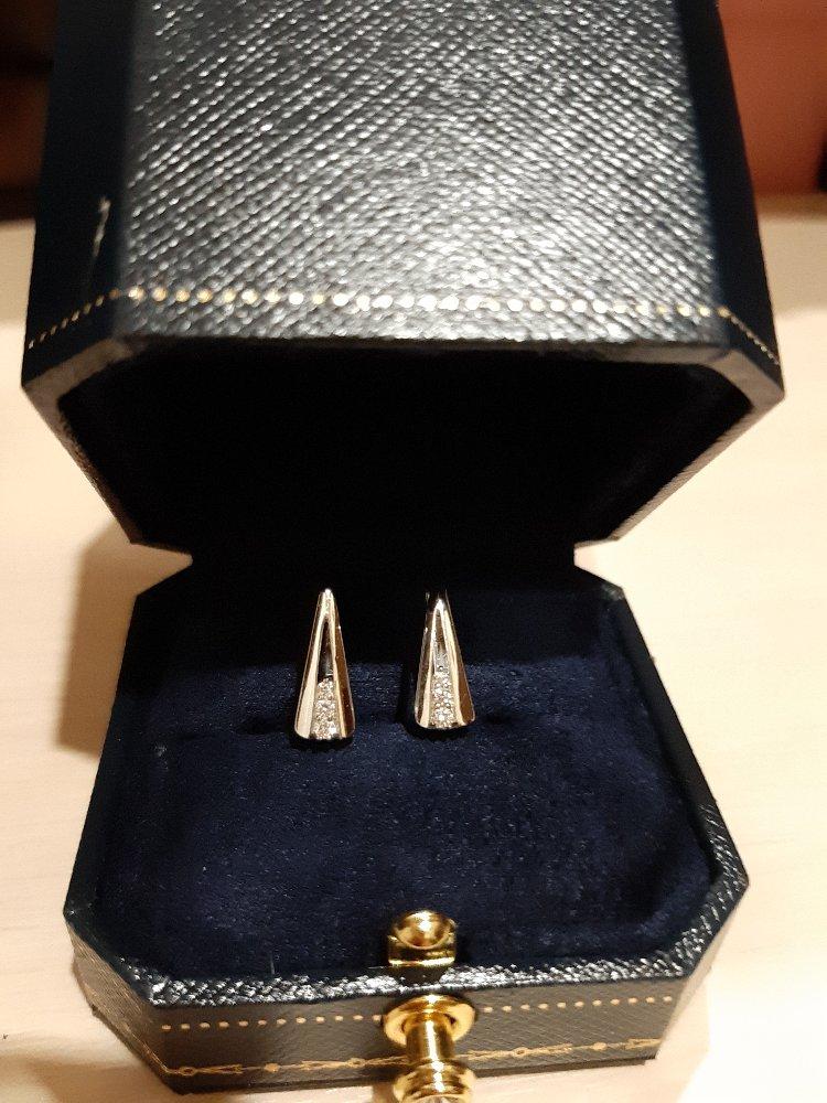 Бриллианты в белом