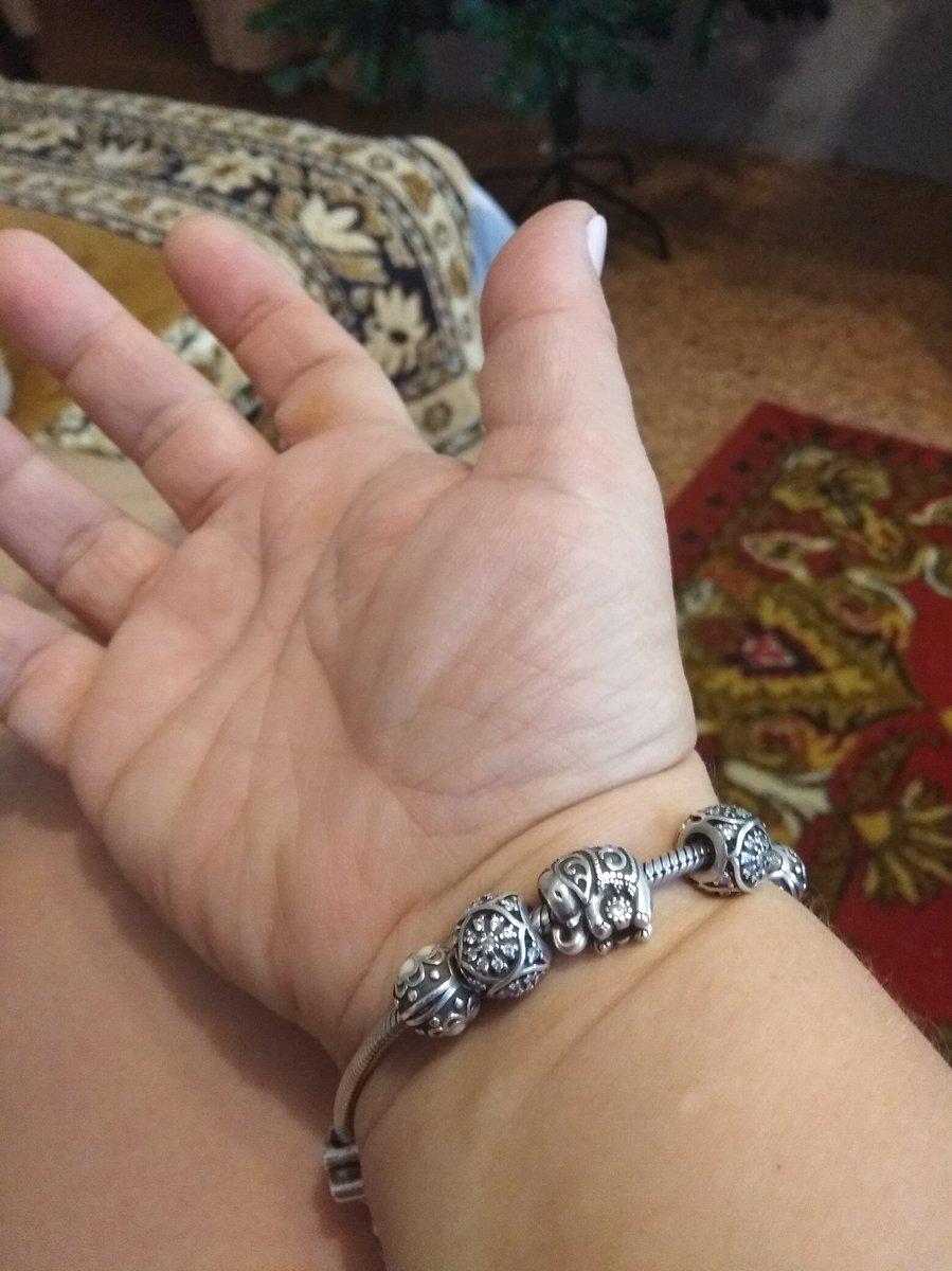 Серебряная подвеска