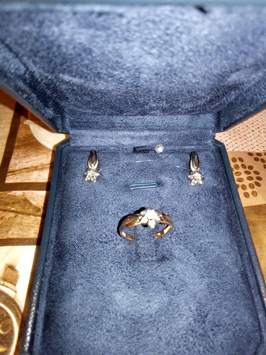 Серьги с бриллиантами якутии