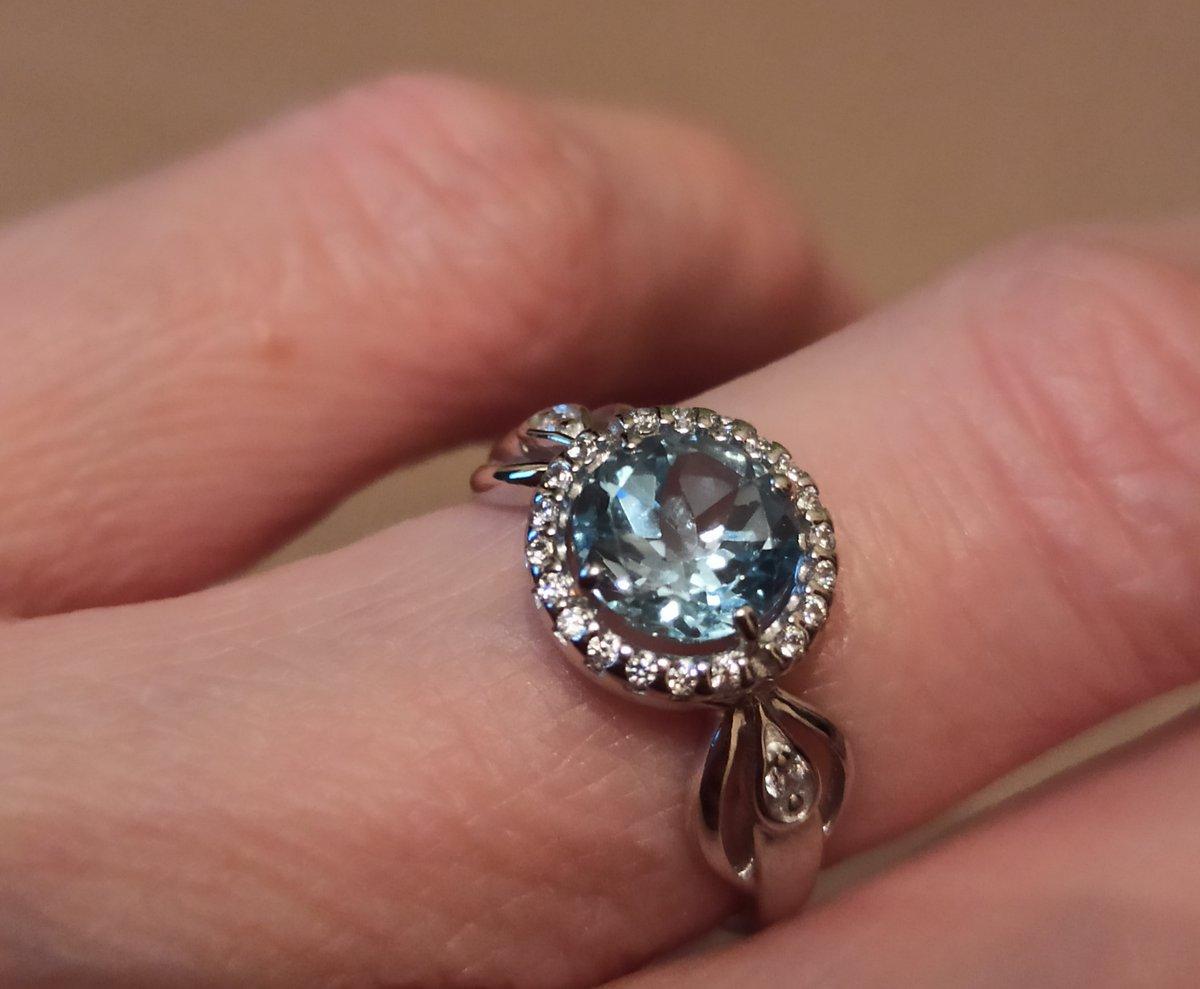 "Топаз sky blue - ""сибирский алмаз"""