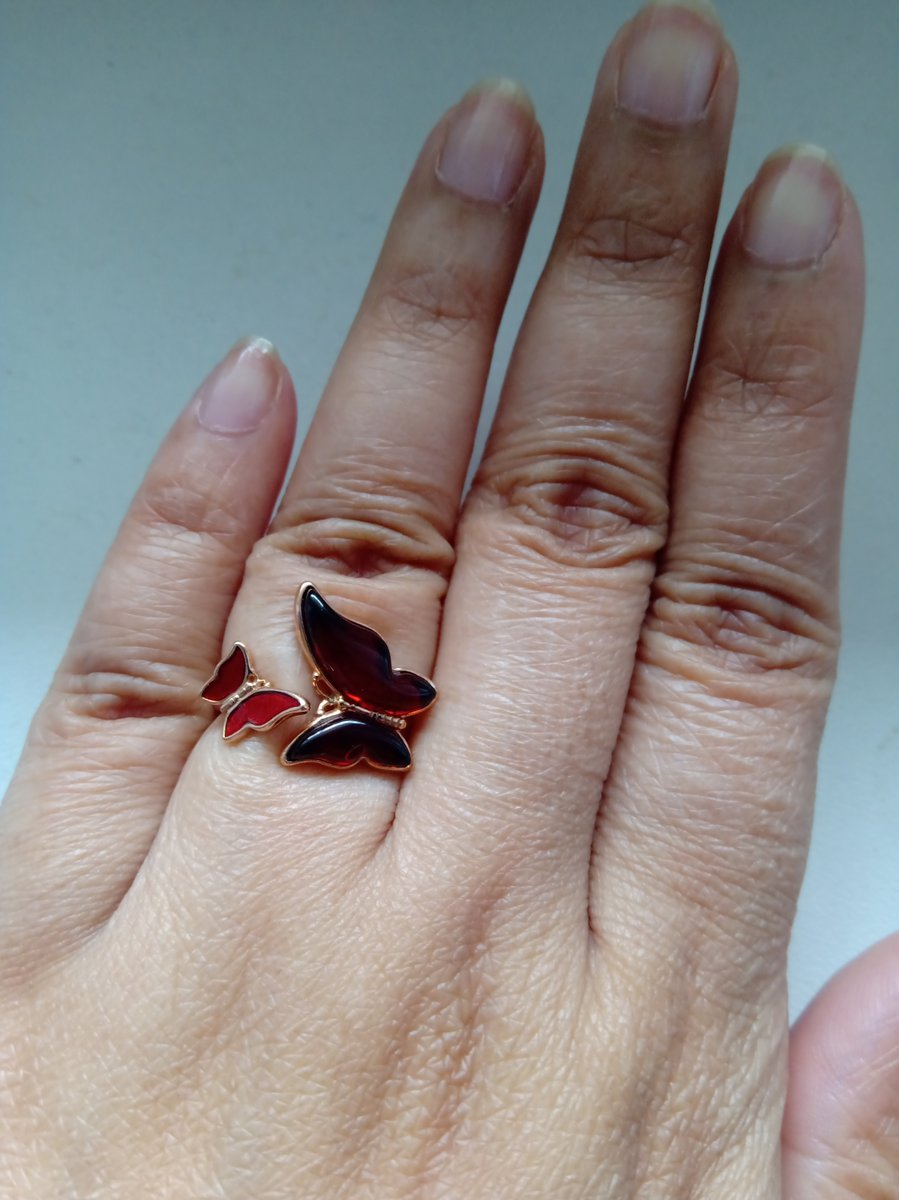 Янтарь кольцо