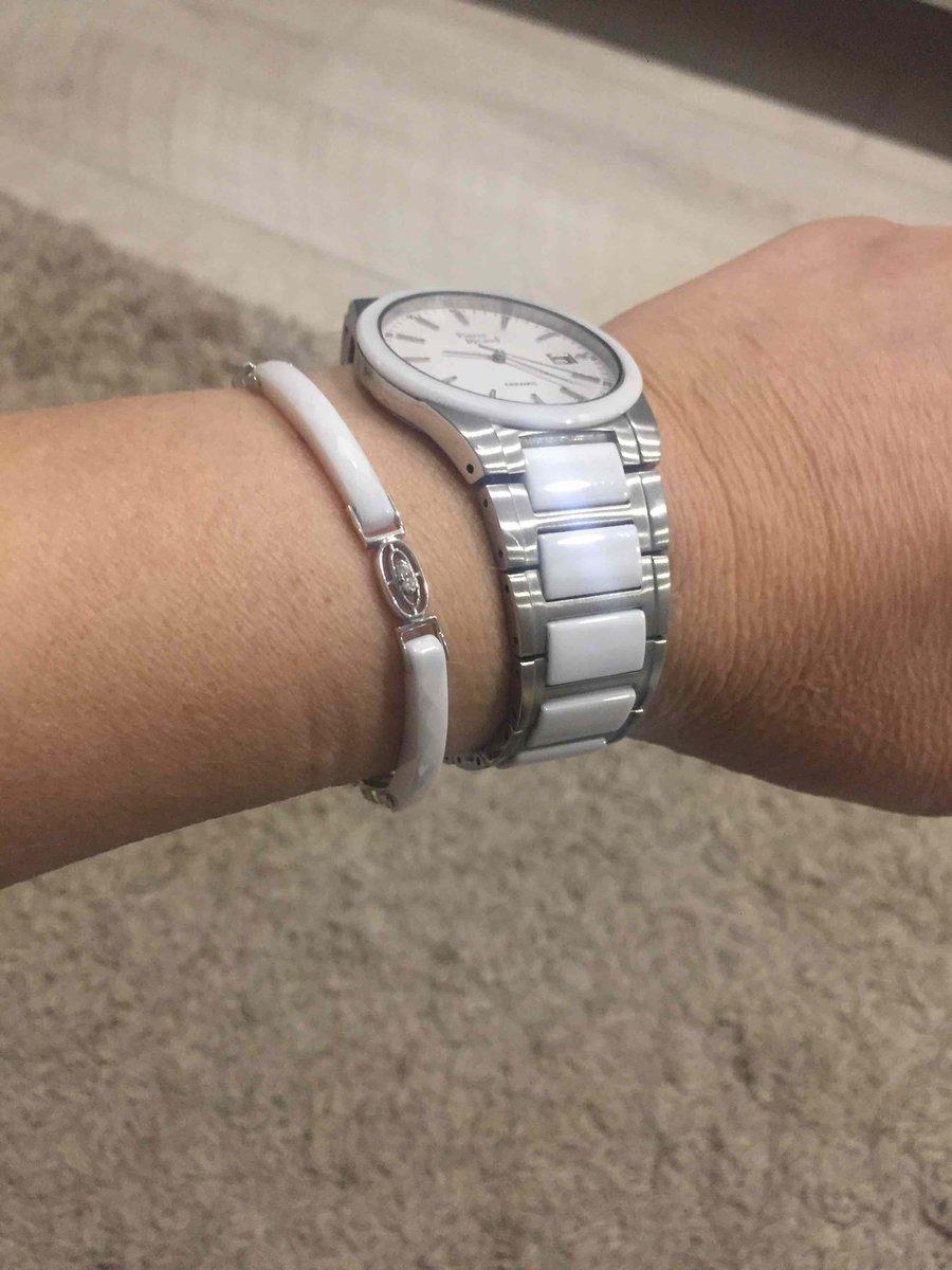 Серебрянный браслет с керамикой