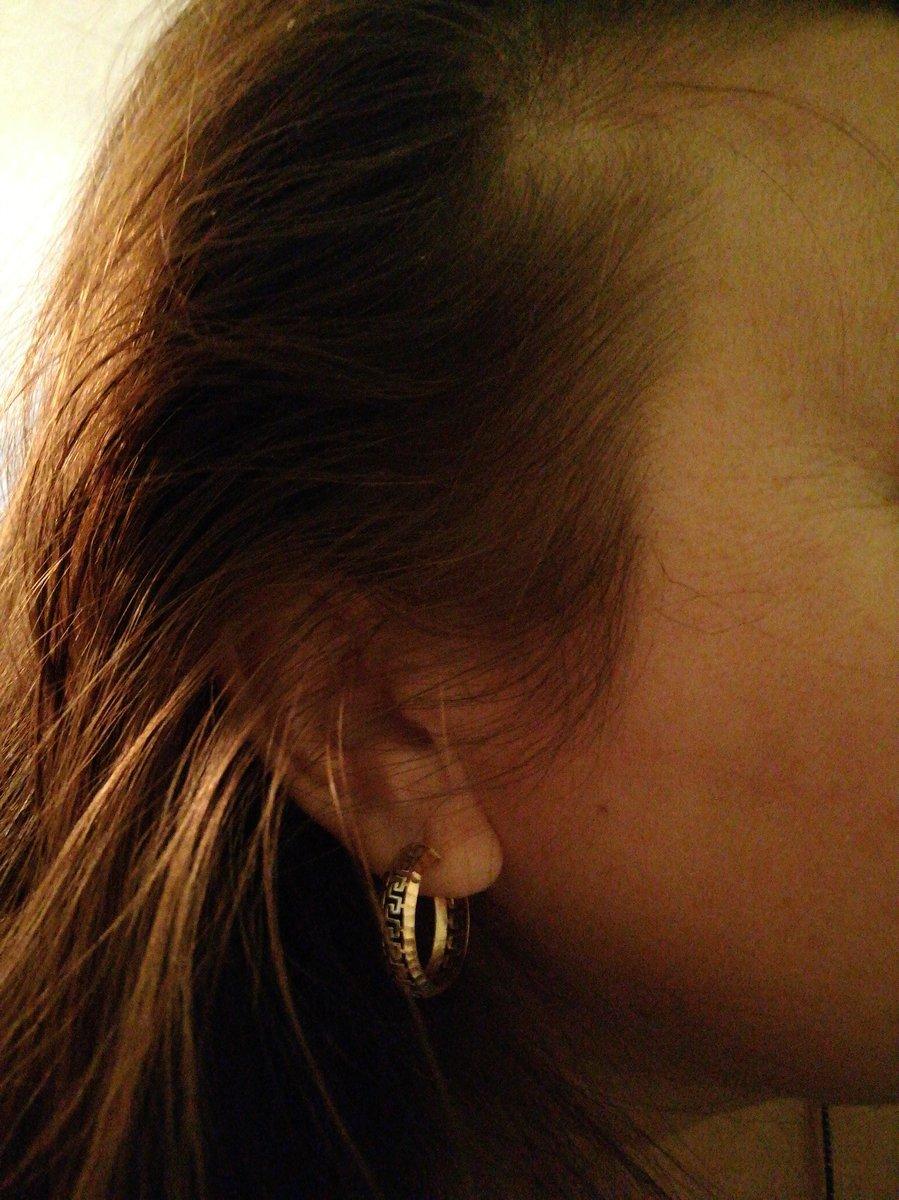 Золотые серьги - кольца