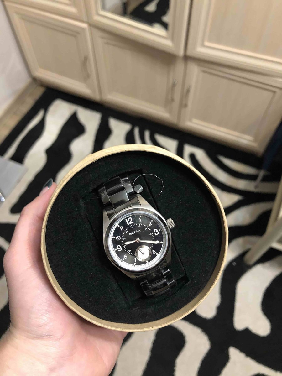 Часы понравились!