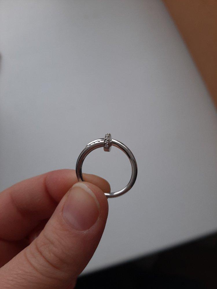 Кольцо гвоздик