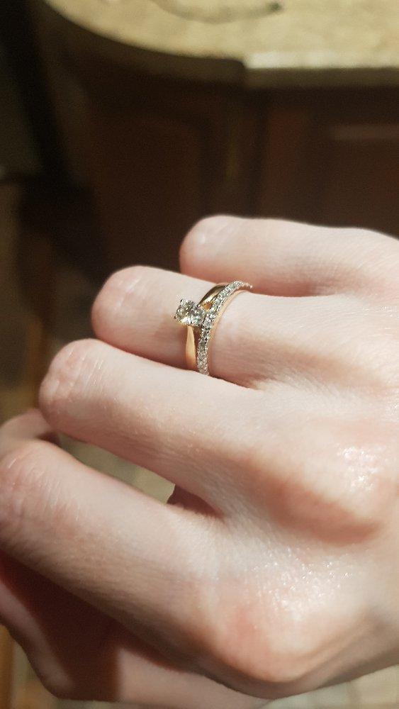 Дорожка с бриллиантами, 15 размер