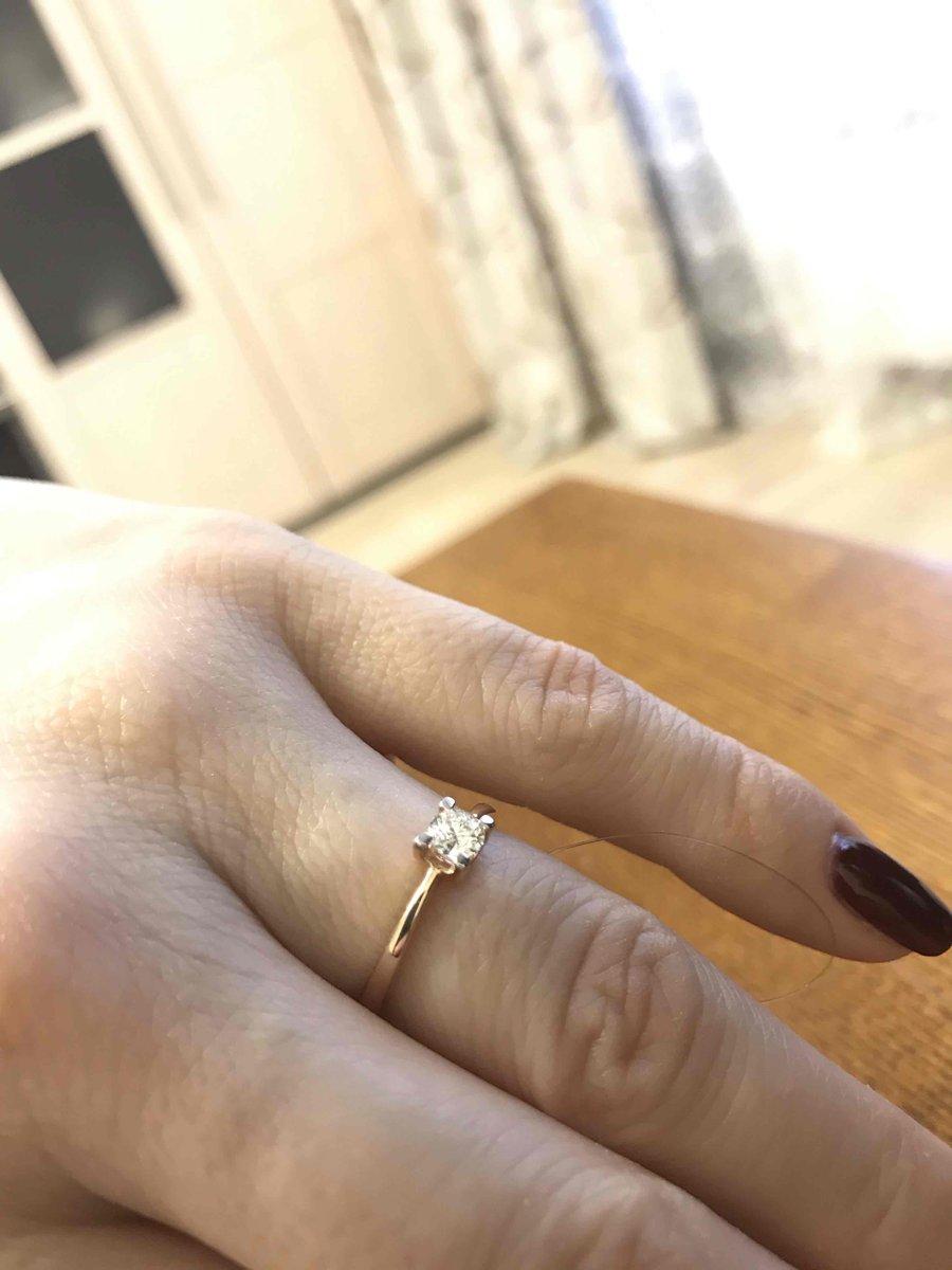 Колечко с якутским бриллиантом