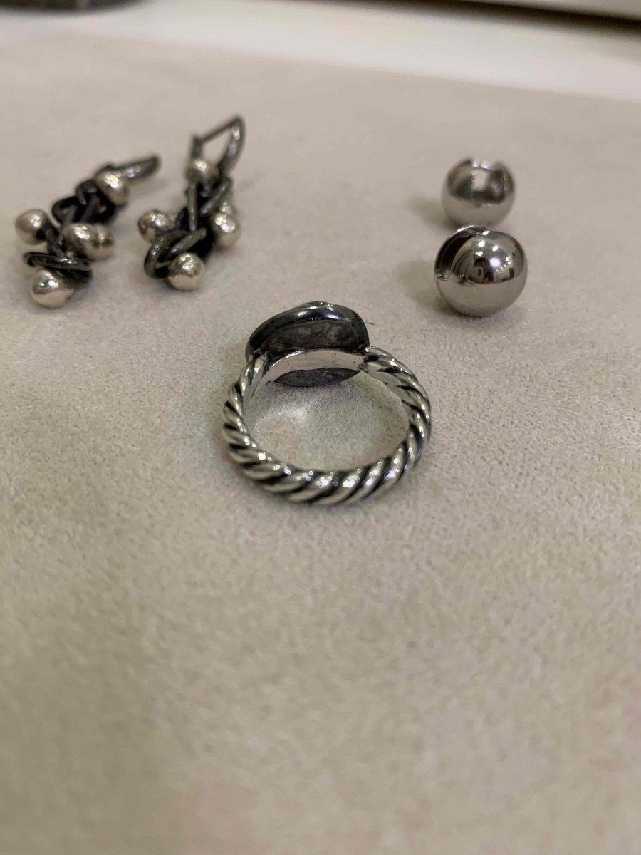 Бутто винтажное кольцо с жемчугом
