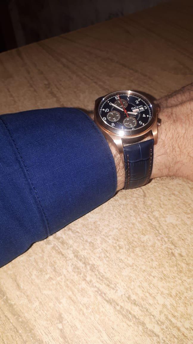Лучшие мужские часы, которые я видела!эти часы достойны шикарного мужчины!