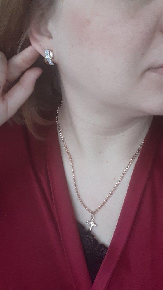 Красивые серьги! подарок мужа на др))