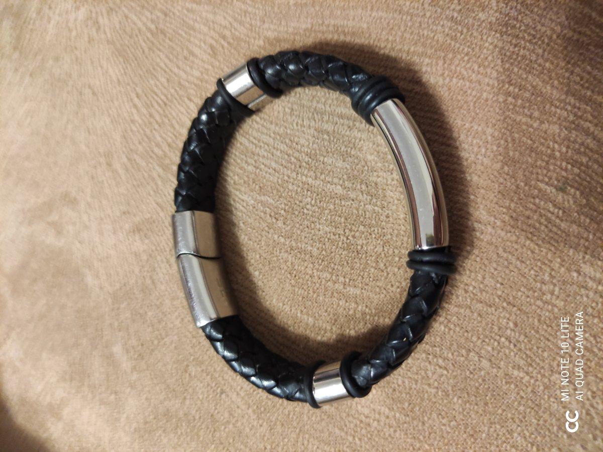 Кожаный браслет - лучший подарок