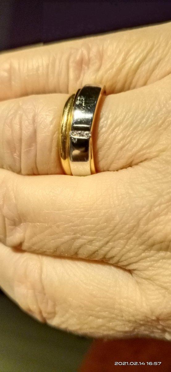 Стильное красивое кольцо.