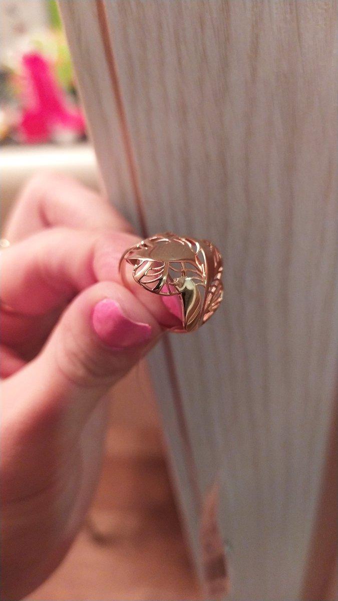 Шикарное кольцо заказала через приложение, пришло в срок