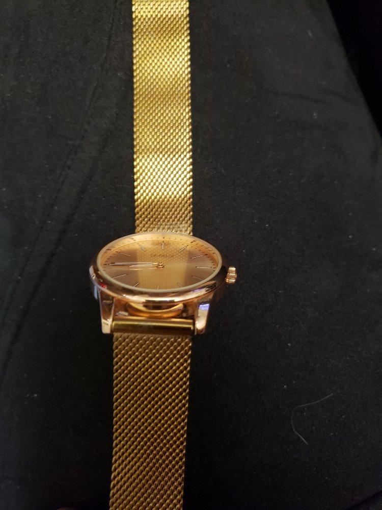 Часы под красное золото
