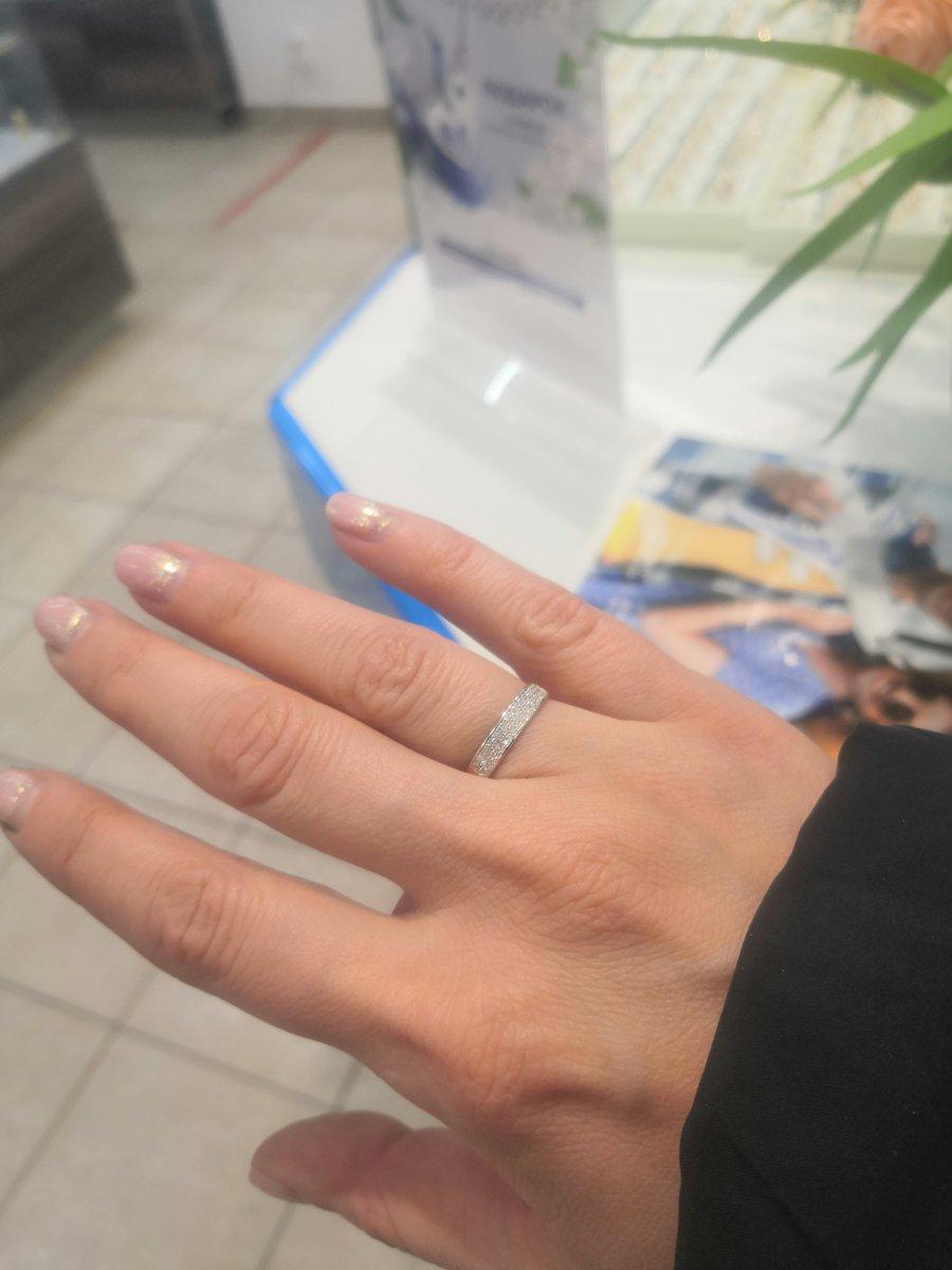 Обалденное кольцо на помолвку! 💍