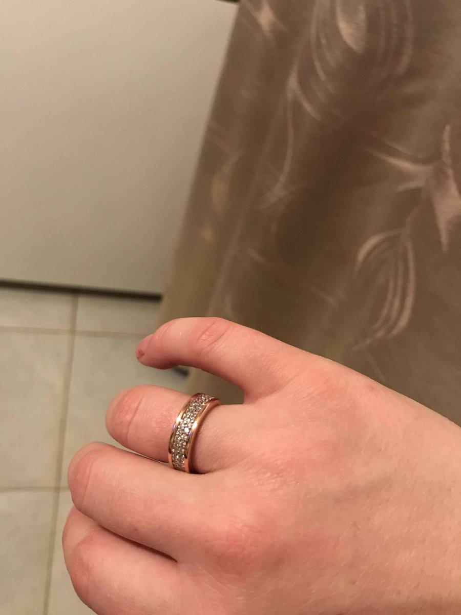 Кольцо серебряное спасибо
