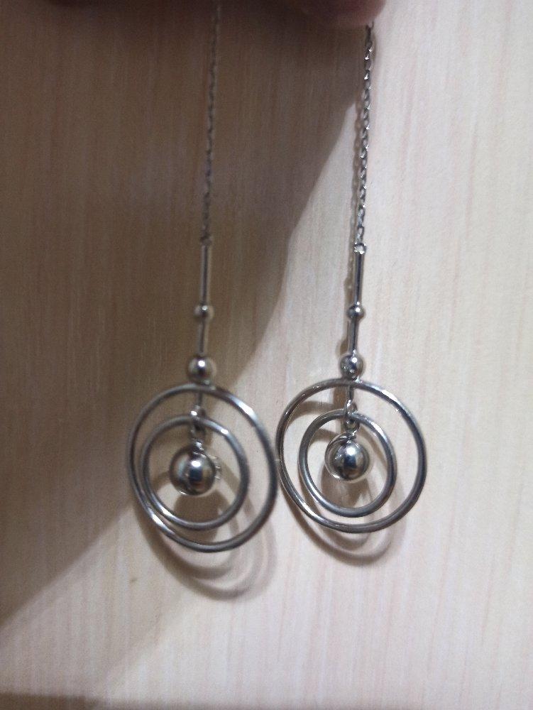 Оригинальные сережки за небольшую цену
