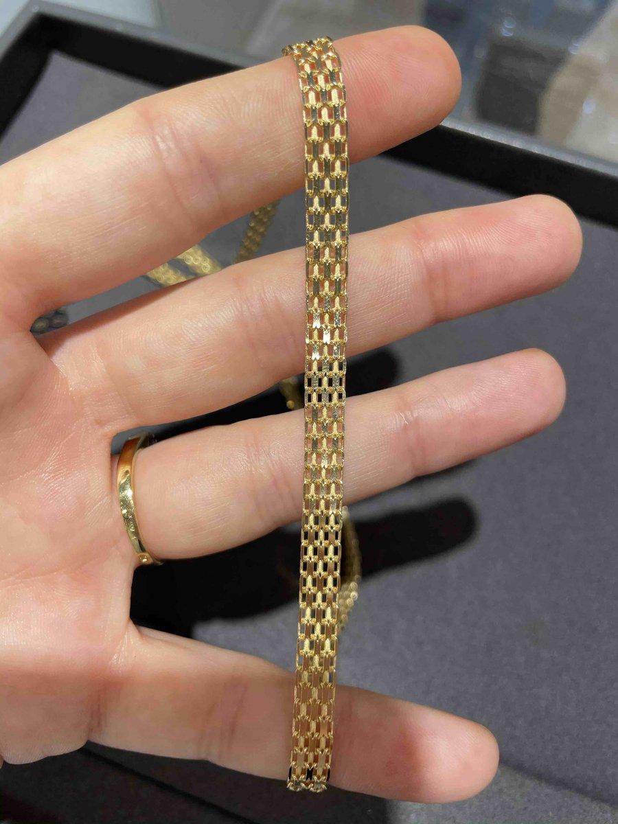 Золотая цепь из желтого золота