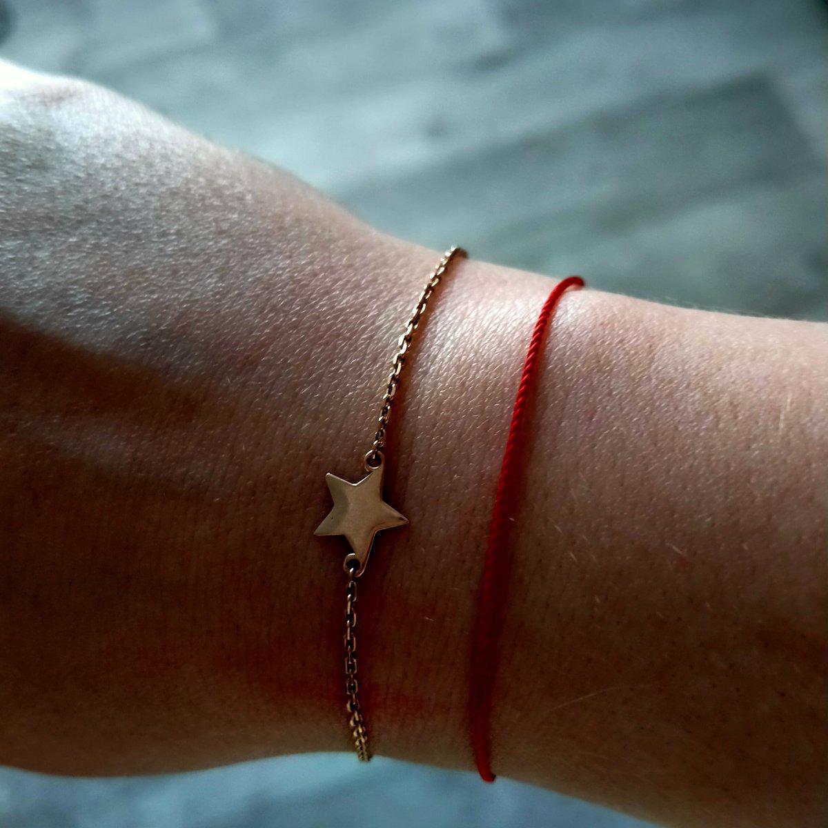 Потрясающий браслет со звездами