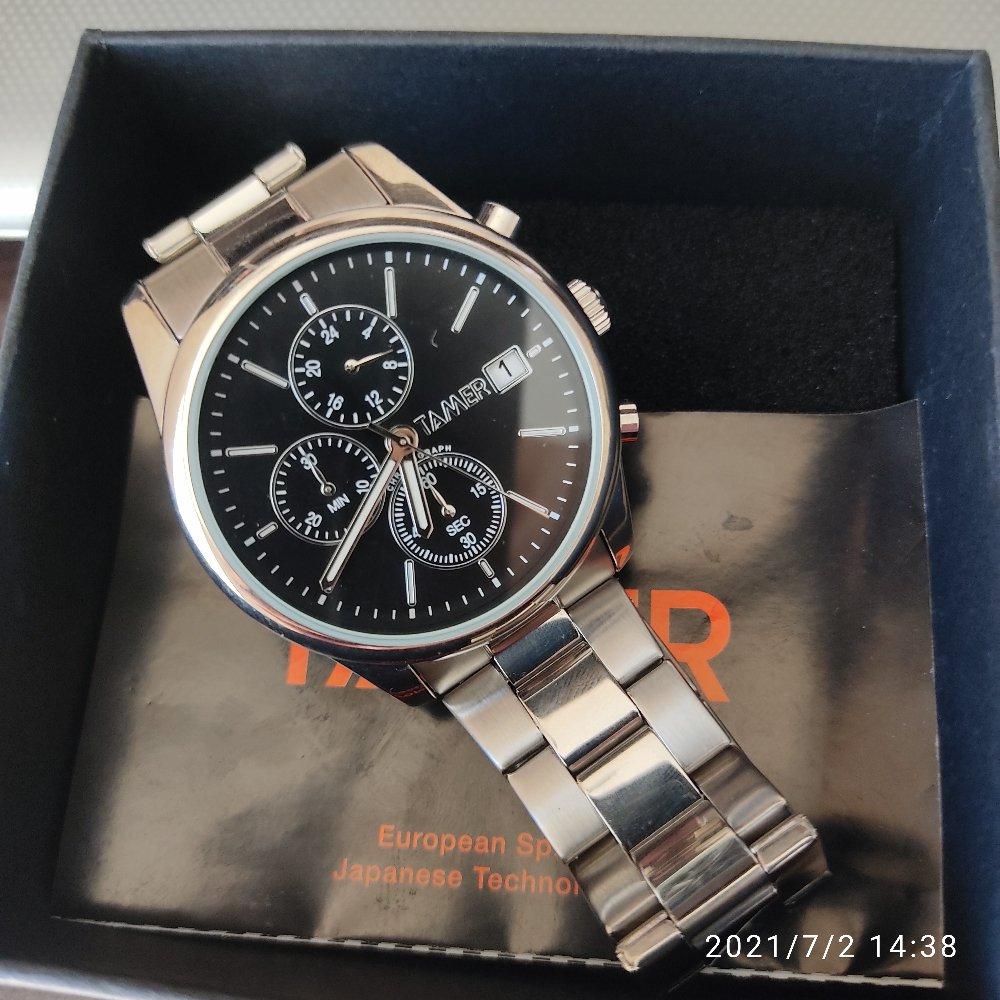 Часы очень понравились.часы были куплены в подарок. мужчина очень довольный