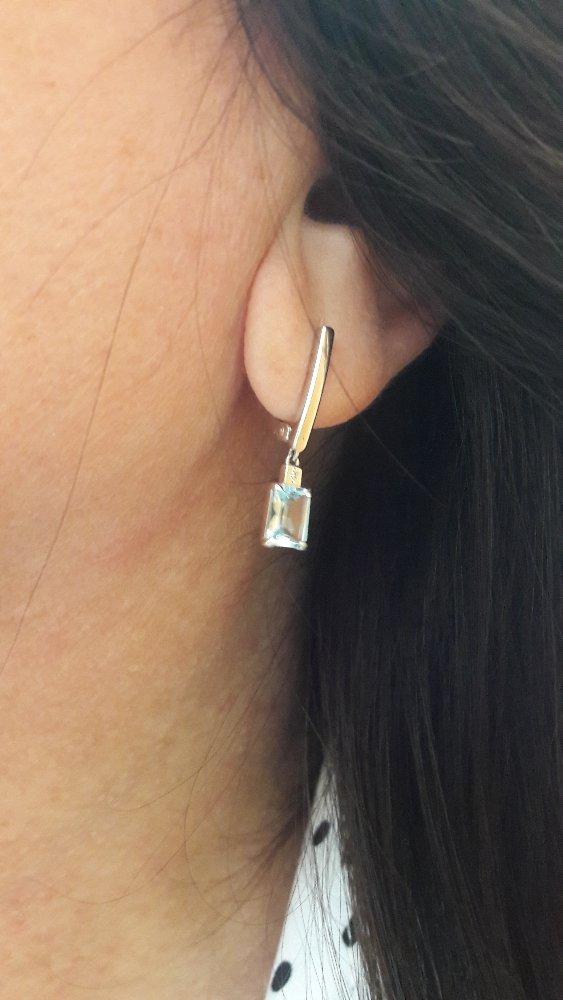 Серебро, топазы и бриллианты