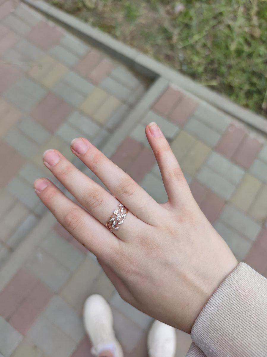 Кольцо покупала на др