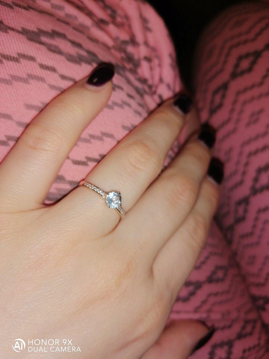 Кольцо прелестное.