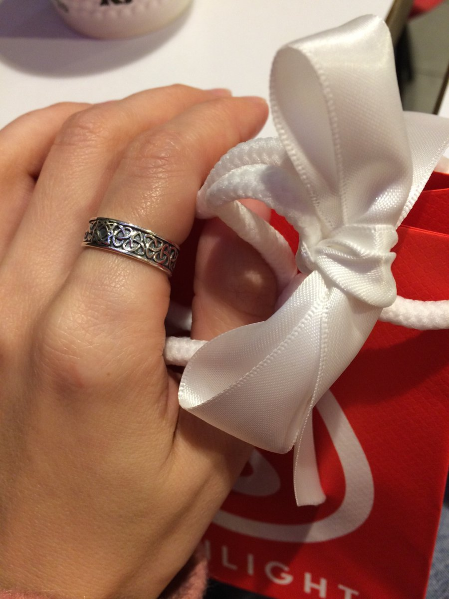 Чудесное кольцо! Восторг