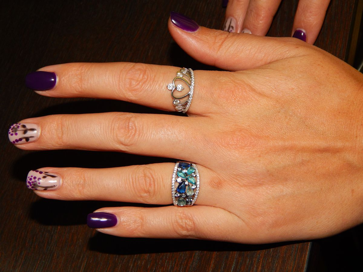Необыкновенной красоты кольцо. Рекомендую.