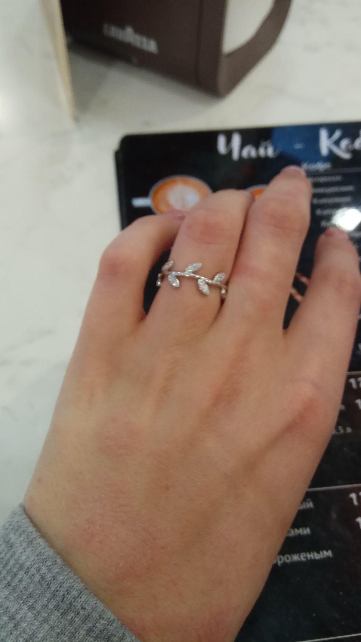 Сразу как увидела, влюбилась в это кольцо. 😍