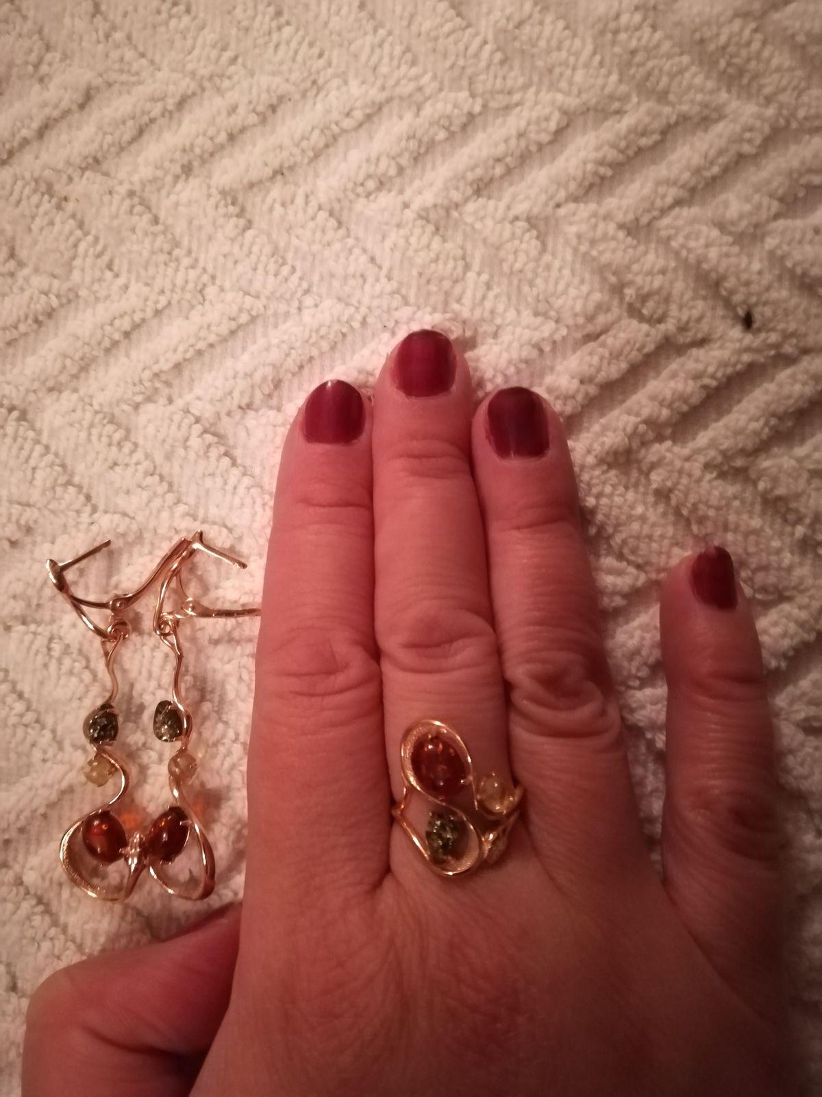 Кольцо в виде змеи