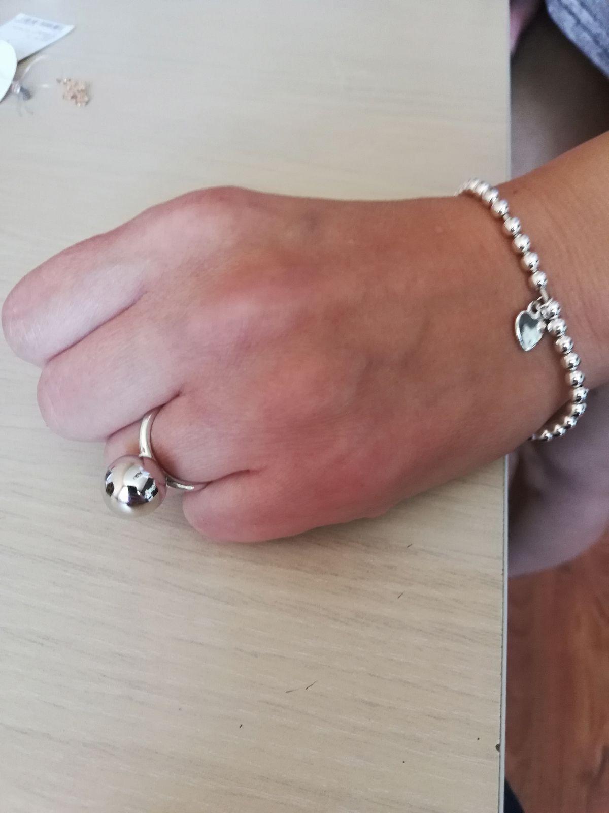 Кольцо серебро легкое