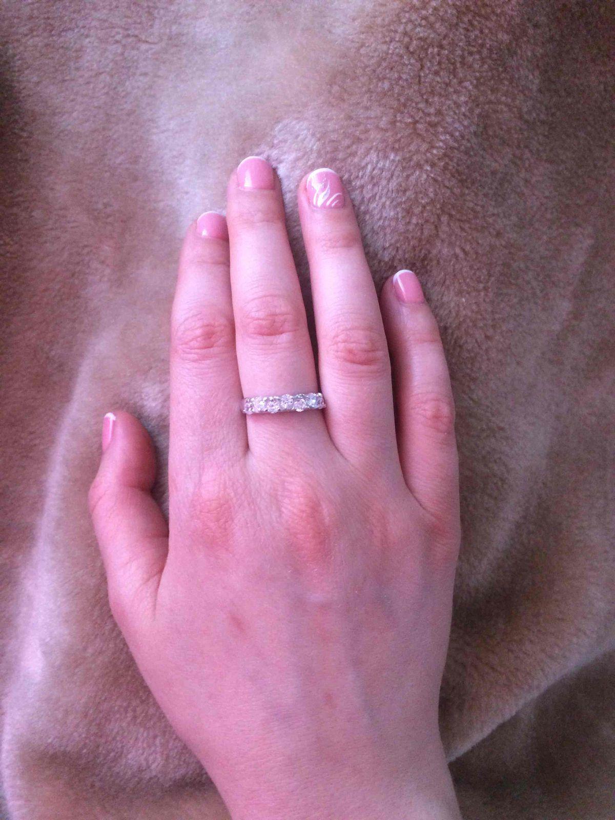 Женское кольцо!