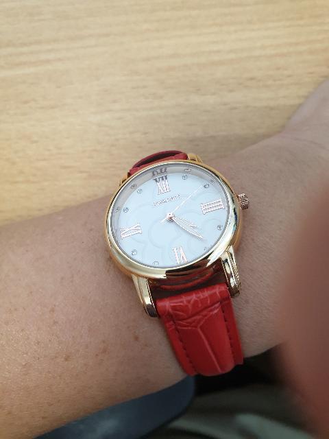 Часы отличные! яркие,как и хотела на лето. благодарю за скидки и подарки!