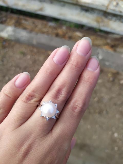 Кольцо с жемсугом