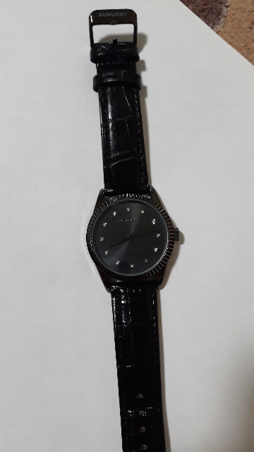 Часики черные
