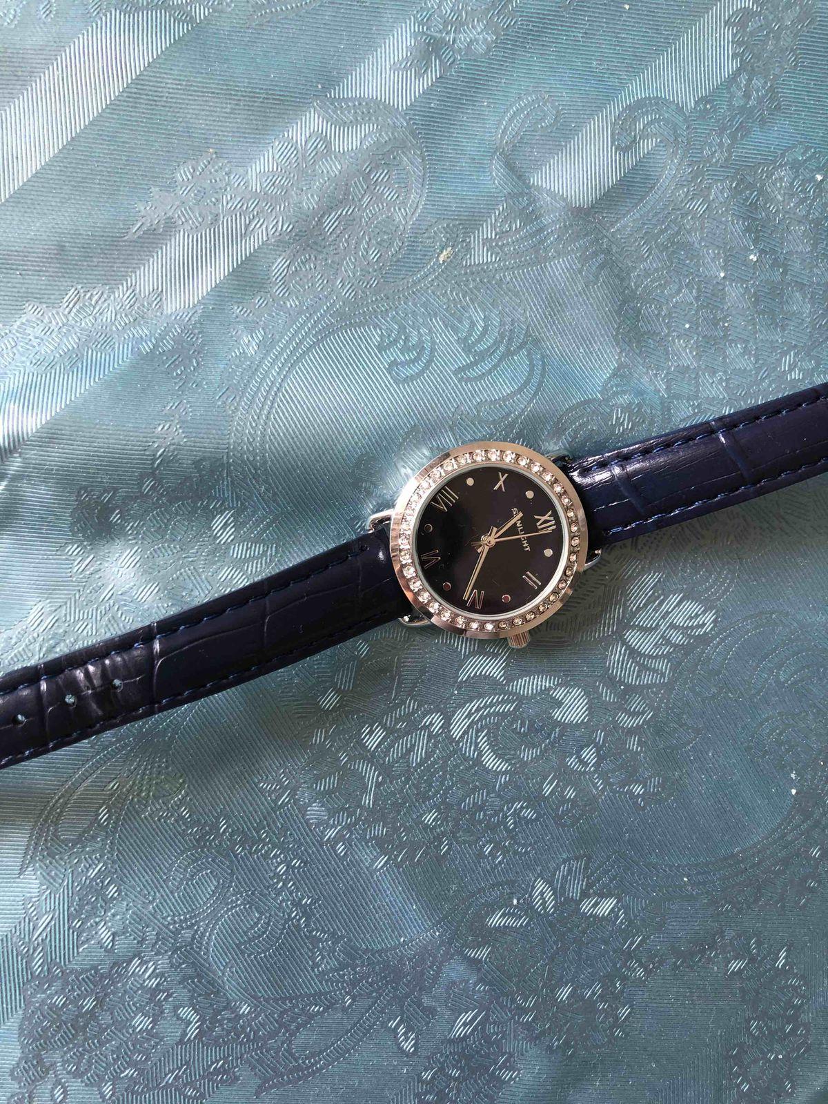Часы синии женские
