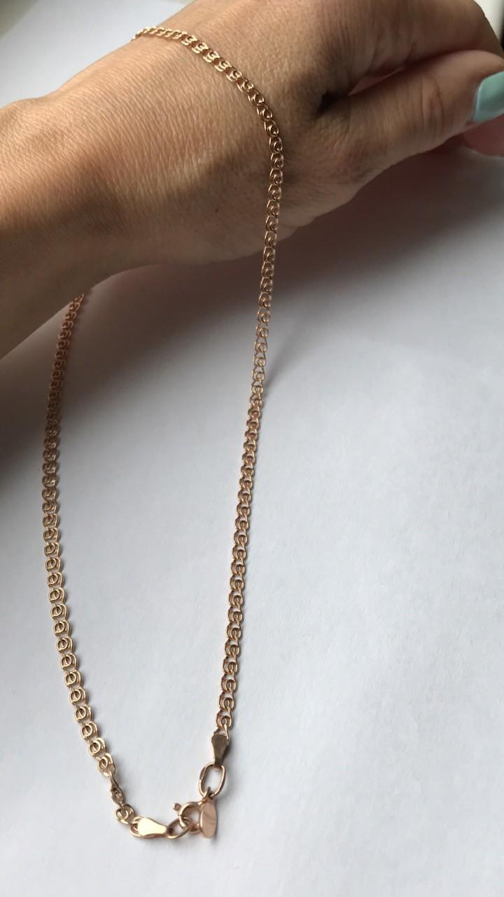 Красивая золотая цепь