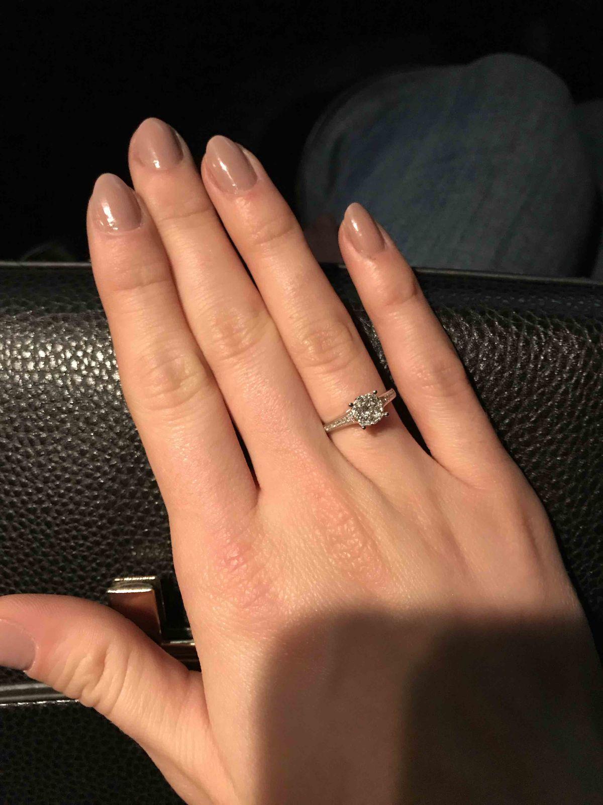 Помолвочное кольцо мечты