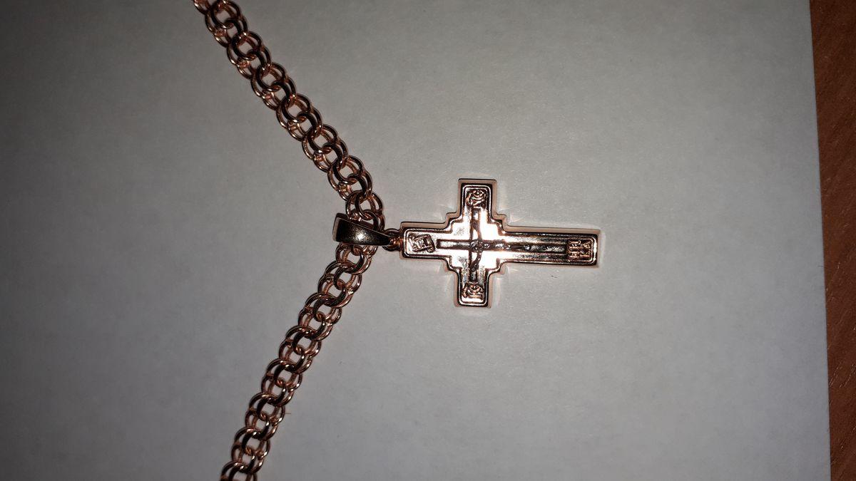 Мой золотой чудо крестик