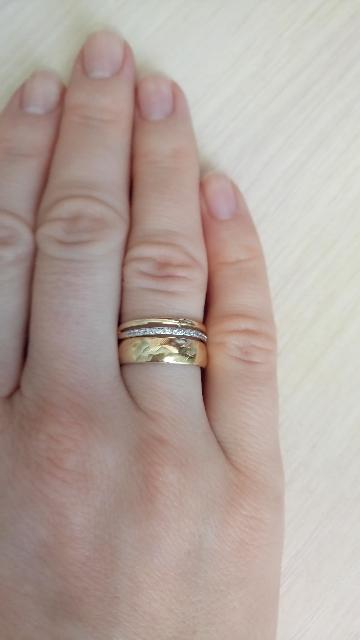 Кольцо из жёлтого золота