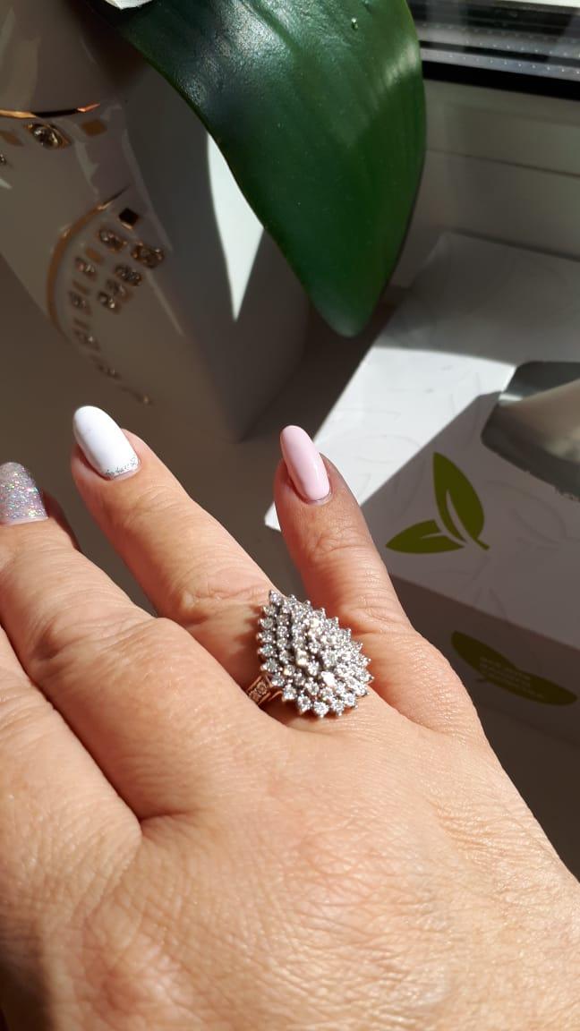 Фантастика!!!  Кольцо для царицы:))))))) не меньше!