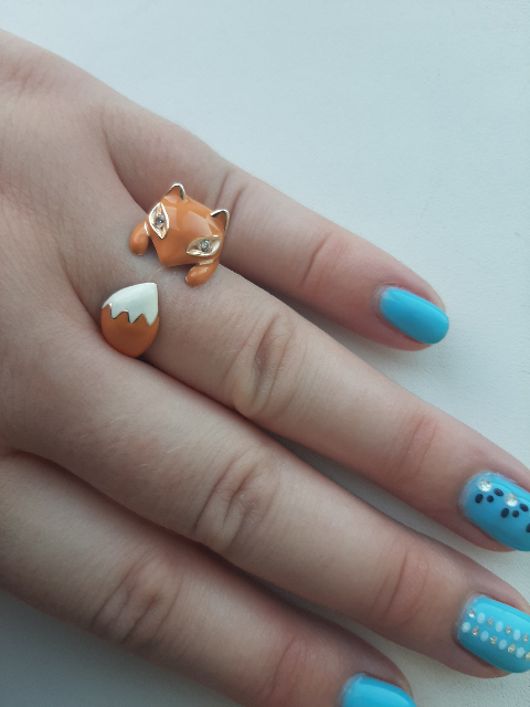 Кольцо на любой размер!)