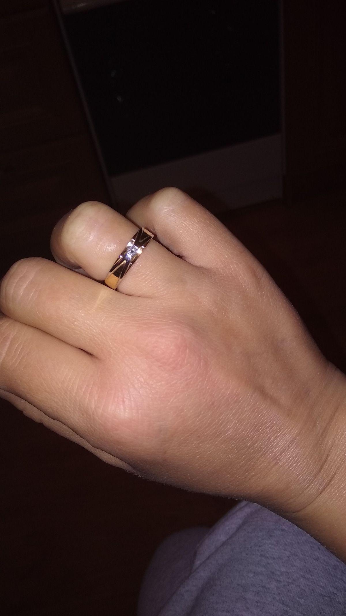 Кольцо на помолвку..